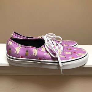 10c5a5fe98 Vans Shoes - SALE Vans Pool Party Vibes Purple Dog Shoes